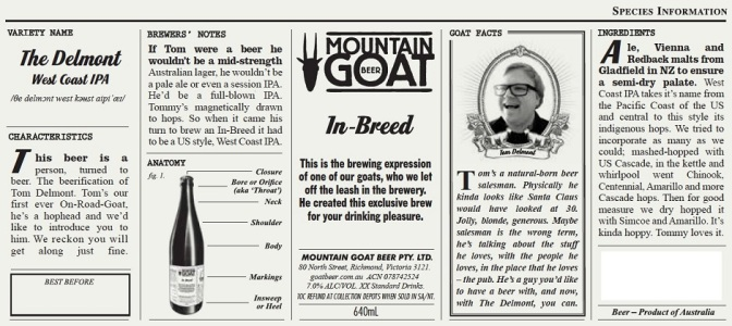 Mountain Goat In-Breed The Delmont