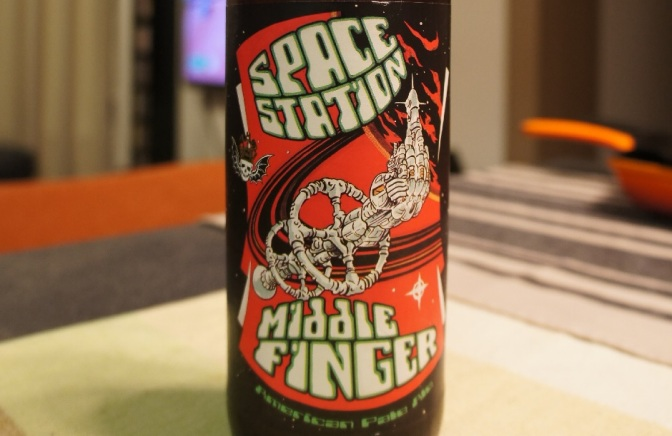 Three Floyds Space Station Middle Finger