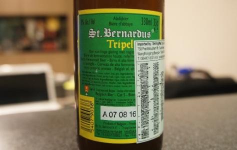 st. bernardus tripel 5