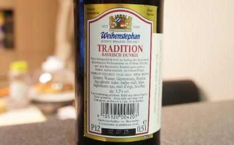 weihenstephaner tradition bayrisch dunkel 5