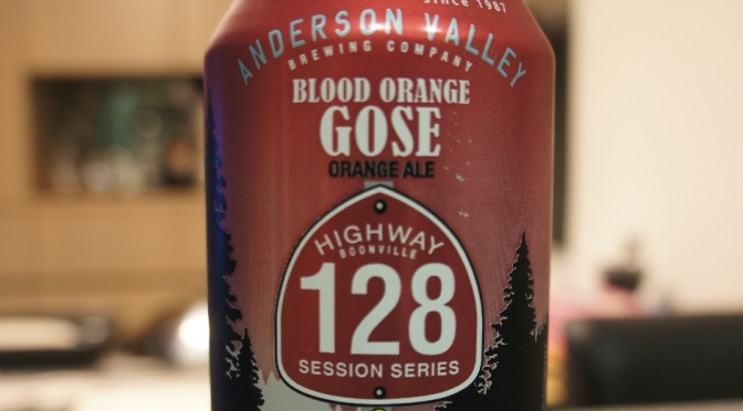Anderson Valley Highway 128 Blood Orange Gose