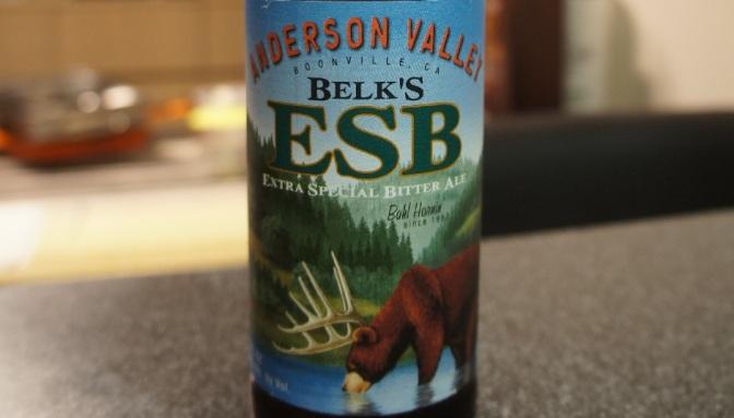 Anderson Valley Belk's ESB