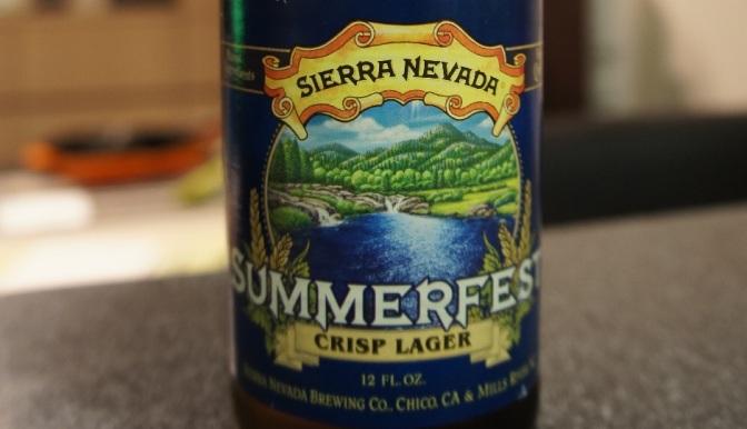 Sierra Nevada Summerfest Crisp Lager
