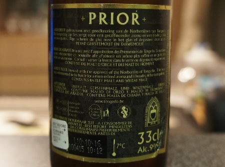 tongerlo prior tripel 4