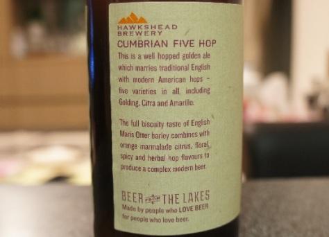 hawkshead cumbrian 5 hop 5