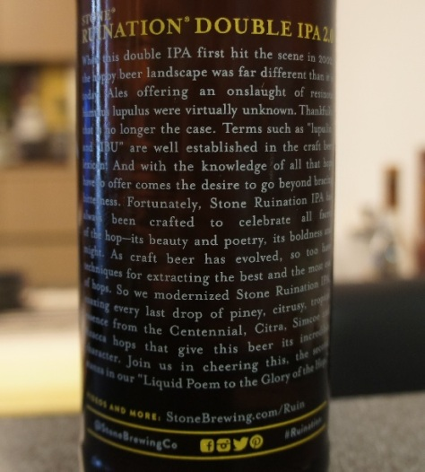 stone ruination double ipa 2.0 4
