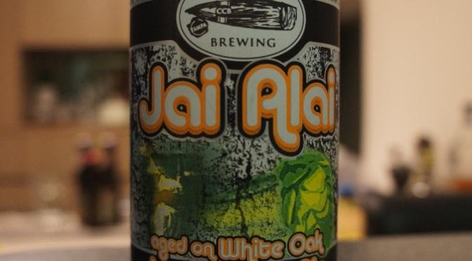 Cigar City Jai Alai IPA White Oak Aged