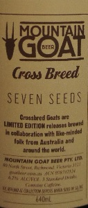 mountain goat cross breed seedy goat coffee porter 6