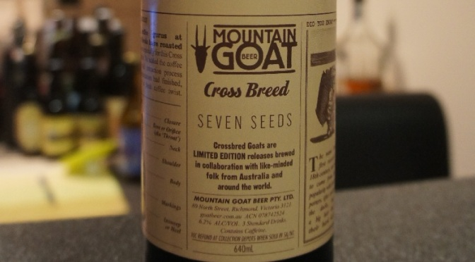 Mountain Goat Cross Breed Seedy Goat Coffee Porter