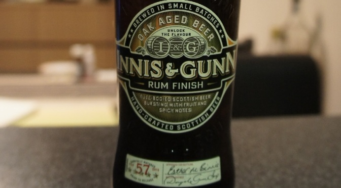 Innis & Gunn Rum Finish Oak Aged Beer