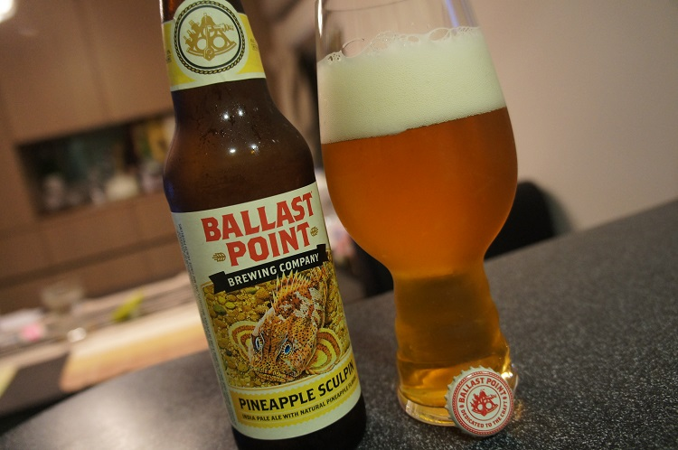 Ballast Point Pineapple Sculpin | words of another dreamy