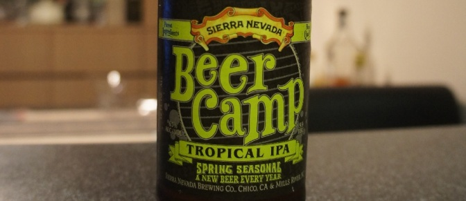 Sierra Nevada Beer Camp (2016): Tropical IPA