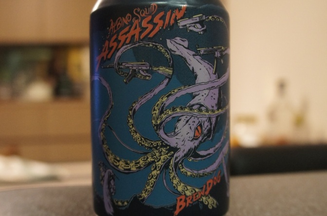 Brewdog Albino Squid Assassin
