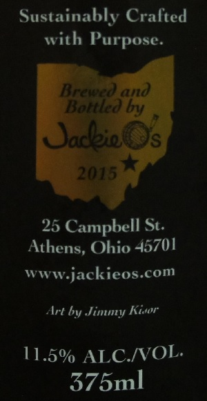 jackie o's bourbon barrel dark apparition 5