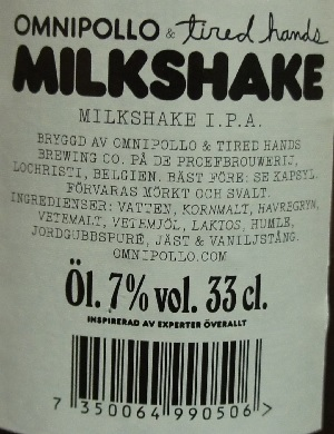 omnipollo x tired hands milkshake ipa 6
