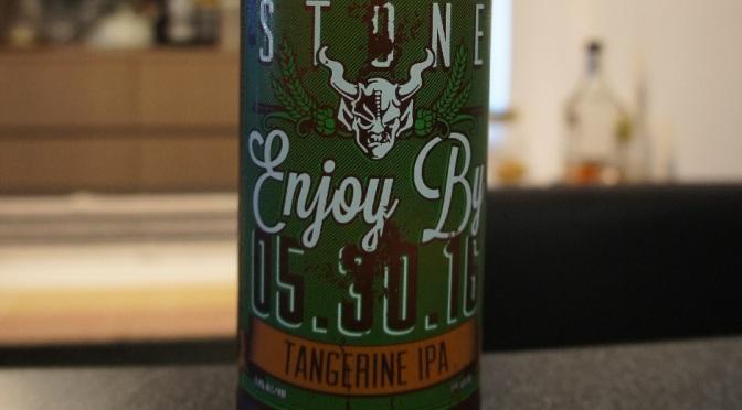 Stone Enjoy By 05.30.16 Tangerine IPA