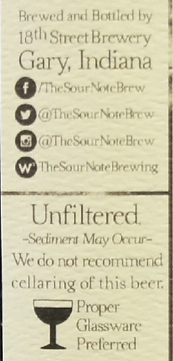 18th street sour note berliner weisse 5