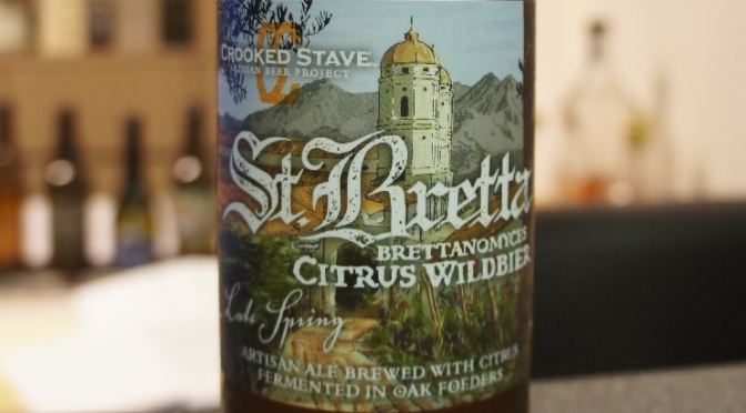 Crooked Stave St. Bretta Late Spring Citrus Wildbier