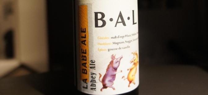 Artisanale du Luberon B.A.L La Babe Ale