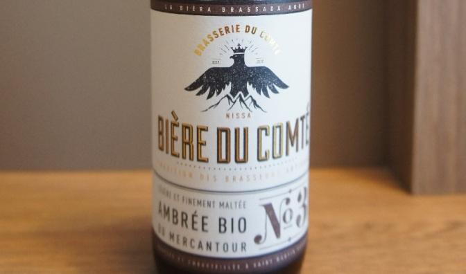 Bière du Comté L'Ambrée Bio du Mercantour