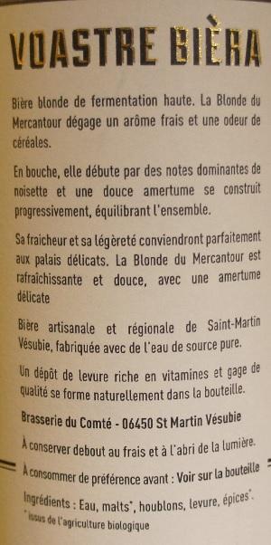 bière du comté la blonde bio du mercantour 4