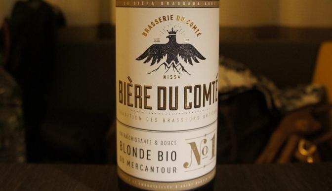 Bière du Comté La Blonde Bio du Mercantour