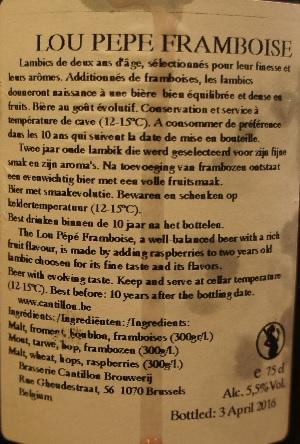 cantillon lou pepe framboise 4