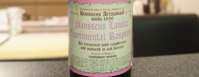 Hanssens Experimental Raspberry