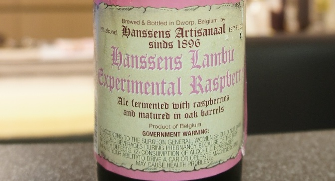 Hanssens Experimental Raspberry