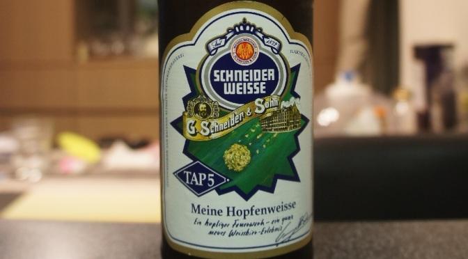 Schneider Weisse Tap 5 Meine Hopfenweisse