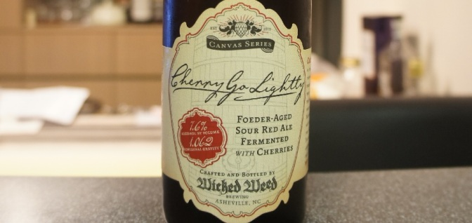 Wicked Weed Cherry Go Lightly (Canvas Series)
