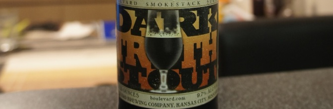 Boulevard Dark Truth Stout (Smokestack Series)