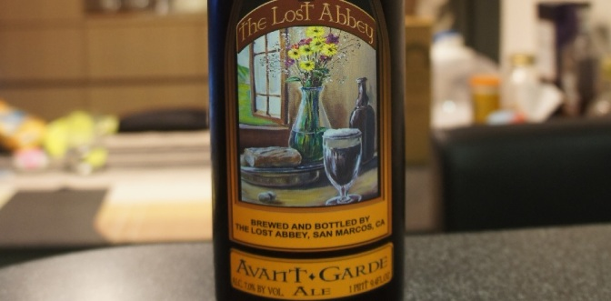 Lost Abbey Avant Garde Ale