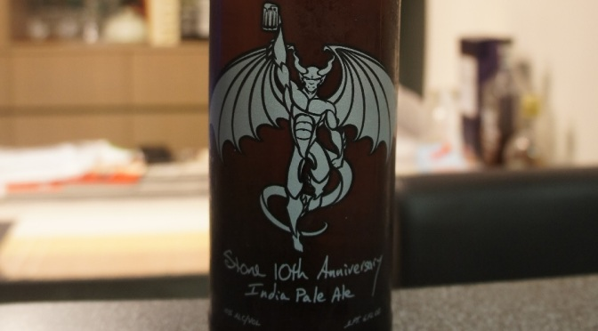 Stone 20th Anniversary Encore Series: 10th Anniversary IPA