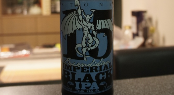 Stone 20th Anniversary Encore Series: 15th Anniversary Escondidian Imperial Black IPA