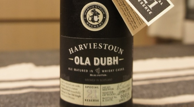 Harviestoun Ola Dubh Special Reserve 21