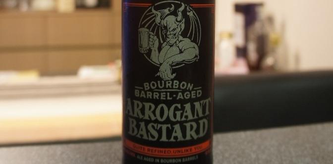 Stone Arrogant Bastard Ale Bourbon Barrel Aged