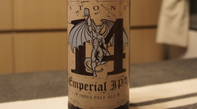 Stone 20th Anniversary Encore Series: 14th Anniversary Emperial IPA