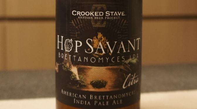 Crooked Stave Hop Savant (Citra)