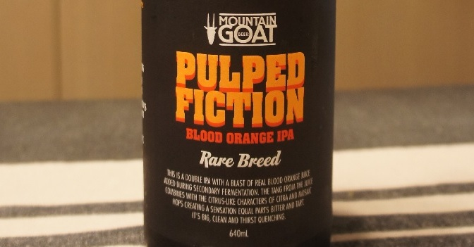 Mountain Goat Rare Breed Pulped Fiction Blood Orange IPA