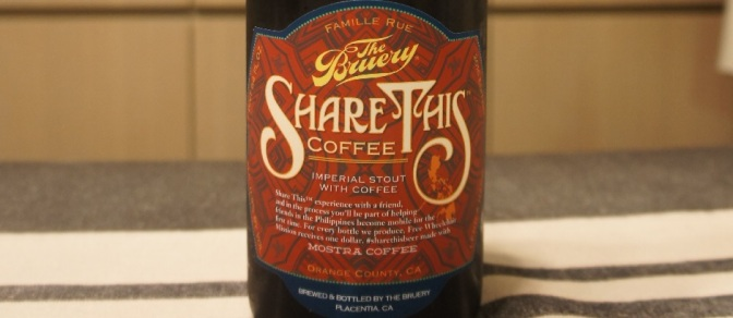 The Bruery Share This: Coffee