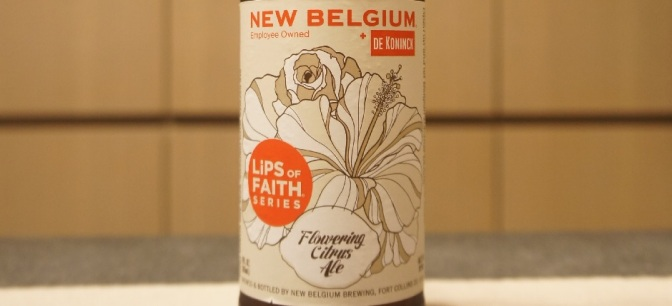 New Belgium x De Koninck Lips of Faith – Flowering Citrus Ale