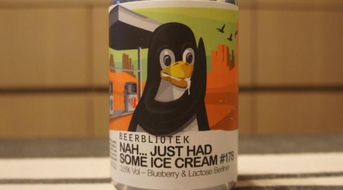 Beerbliotek Nah… Just Had Some Ice Cream