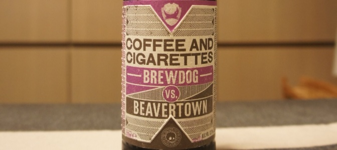 BrewDog x Beavertown BrewDog vs. Beavertown Coffee and Cigarettes