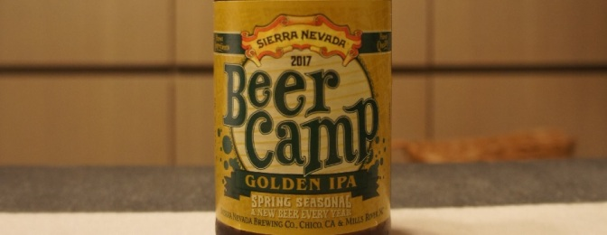Sierra Nevada Beer Camp (2017): Golden IPA