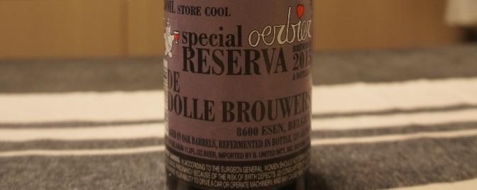 De Dolle Oerbier Special Reserva 2015