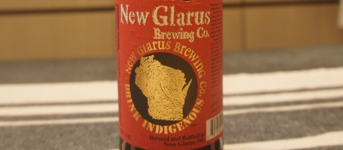 New Glarus Thumbprint Series Berliner Weisse