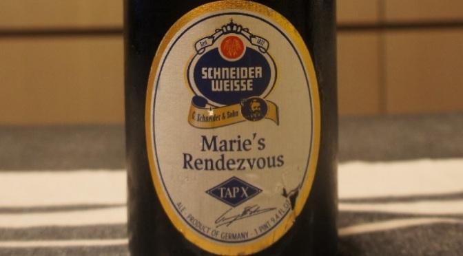 Schneider Weisse Tap X Marie's Rendezvous