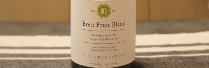 Blackberry Farm Barrel Series Brett Fruit Blend 2016