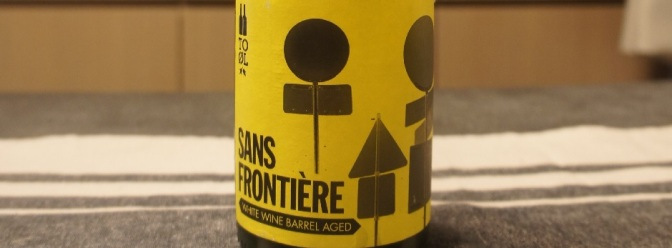 To Øl Sans Frontière White Wine Barrel Aged